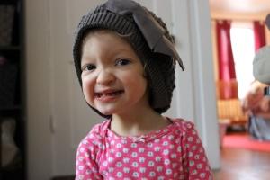 Cute Fiona in hat