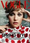 Lena Dunham on Vogue
