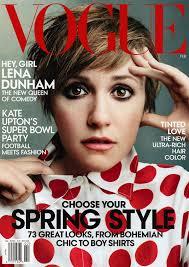 Lena Dunham on Vogue